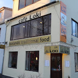 cafe Loki in Reykjavik in Reykjavik, Hofuoborgarsvaeoi, Iceland