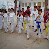 MNR Scottsdale Kukatpally branch kids at Martial Arts and Self Defence Class - Only Education is not our idea, a kid should have all-round developement.
