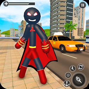 Stickman Mafia Rope Hero - Superhero Gangster Game For PC (Windows & MAC)