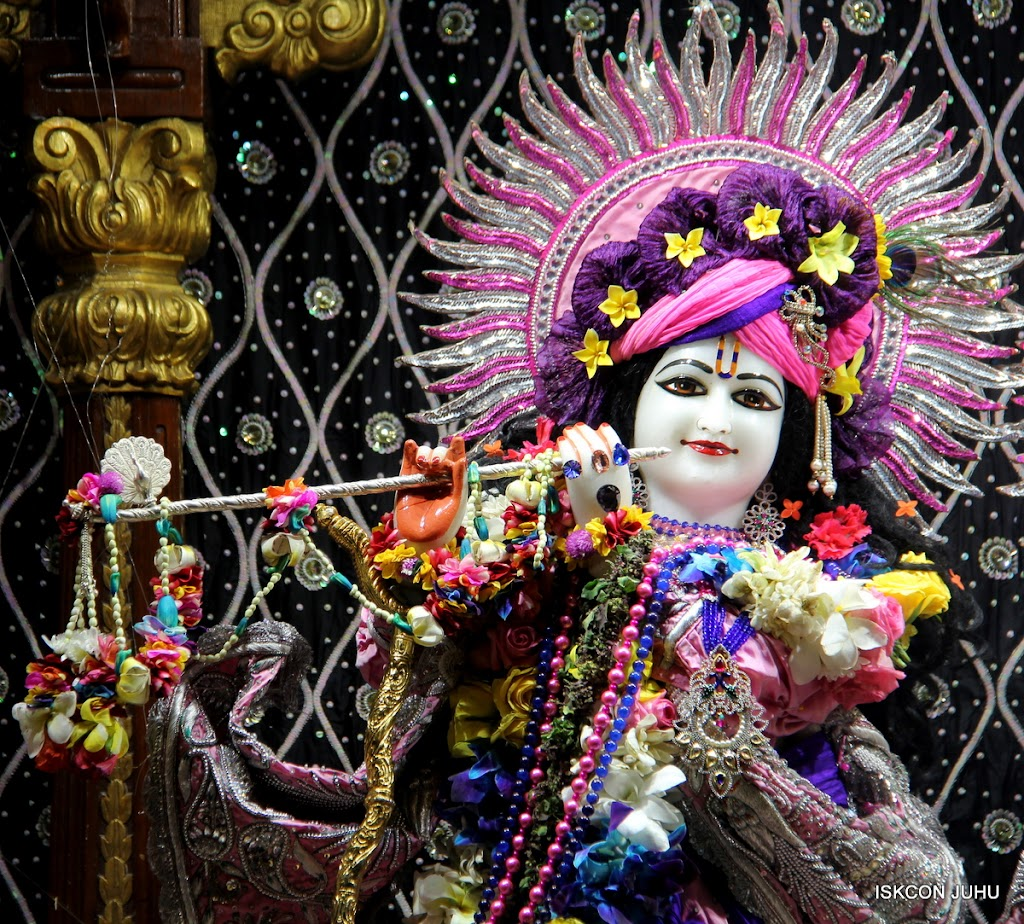 ISKCON Juhu Sringar Deity Darshan 20 Jan 16 (5)