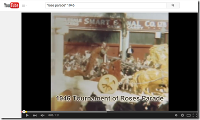 Searching YouTube helped a genealogist discover a movie clip of her grandmother.
