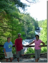 Syl, D&T at Triple Falls
