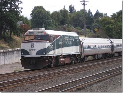 IMG_8694 Amtrak Cascades NPCU #90340 in Kalama, Washington on August 25, 2007