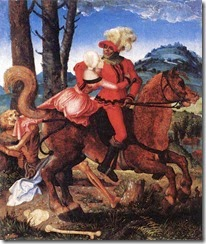 Hans Baldung Grien The Knight the Young Girl and Death