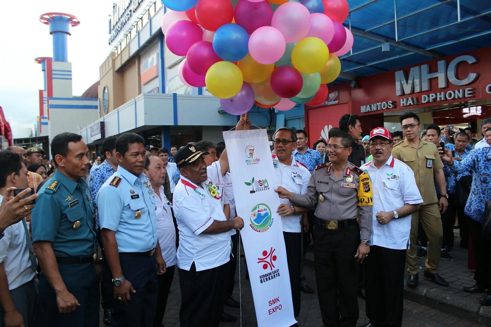 gubernur sumarsono launching logo gsm dan gebeka