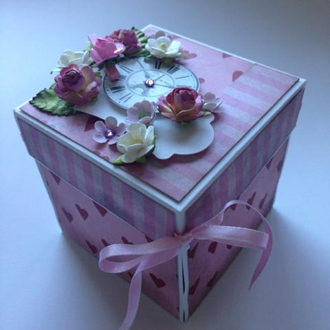 la caja del regalo