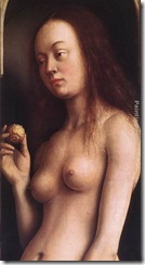 The Ghent Altarpiece Eve [detail 2]