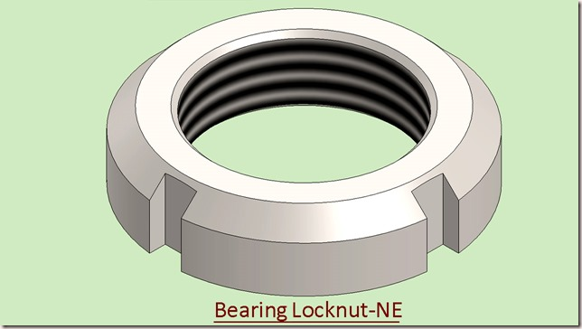 Bearing Locknut-NE
