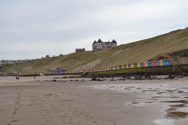 Beach huts near Whitby