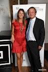 Amalia Achával, responsable de la organización del evento, junto a Cristiano Rattazzi. Gentileza: Amalia Achával.