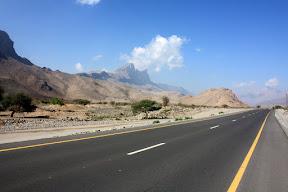 Road to Jebal Shams
