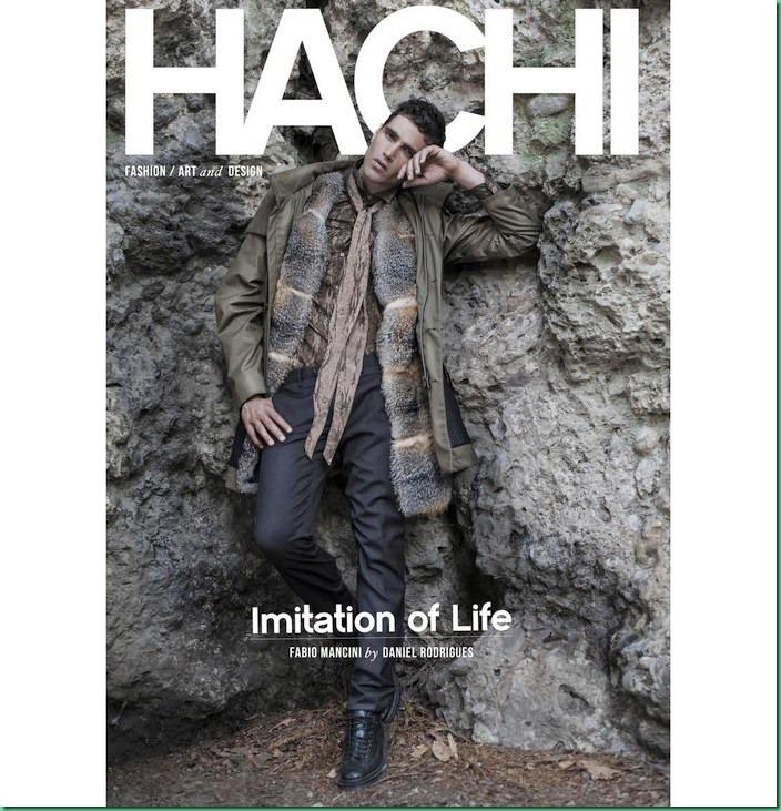 Fabio Mancini covers HACHI Magazine