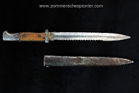 Bayonet s84/98 new pattern with sawback