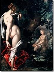 50288-Bartholomaeus Spranger-Salmacis and Hermaphroditus