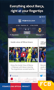 App FC Barcelona Official App APK for Windows Phone