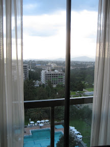 View from the Addis Hilton