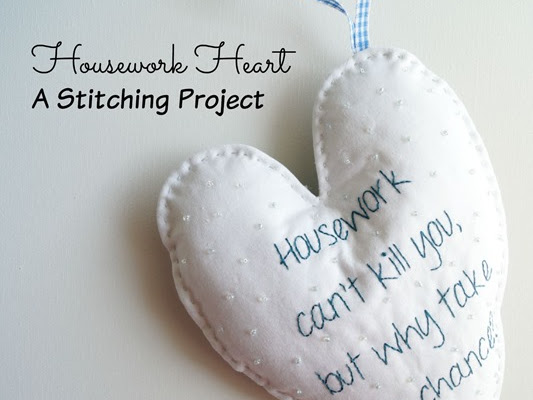 Housework Heart {Free Pattern}