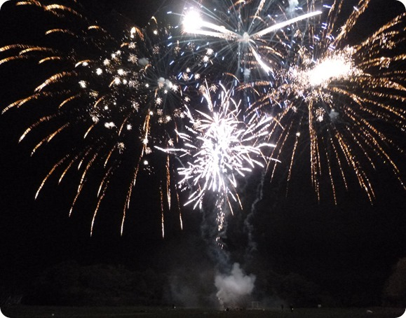 Wistaston Fireworks - promotional photo
