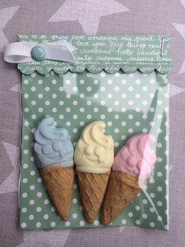 Stampin up Süßigkeiten verpackt