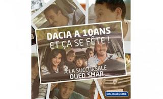 Dacia Algérie La révision à seulement 3 999 DA