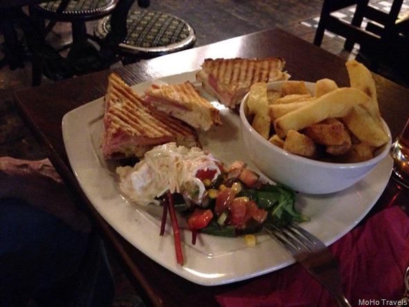 pub food at Osheas mo
