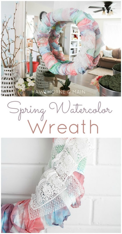 Water color wreath TITLE