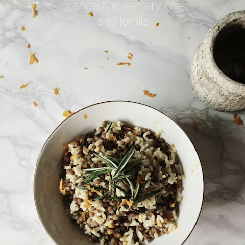 Rosemary & Orange Rice And Lentils