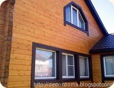 Отделка домов из бруса 2