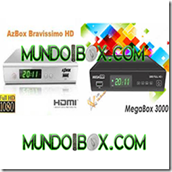 AZBOX BRAVISSIMO EN MEGABOX 3000