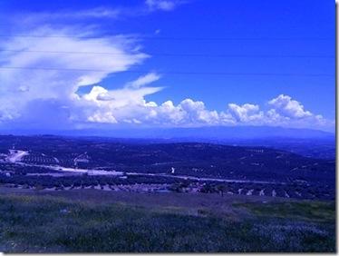 Vista del valle del Guadalquivir