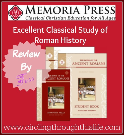 The Book of Ancient Romans Set ~ A Reivew by Tess at Circling Through This Life