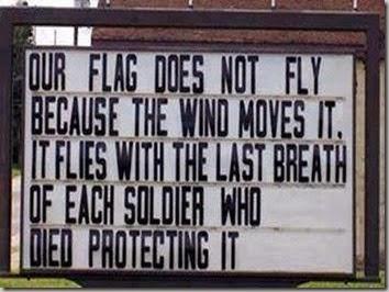 flag flies-breath