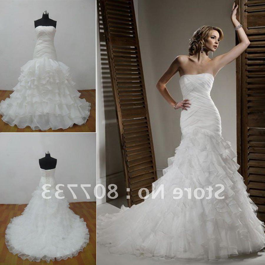 Buy wedding gown 2012 organza,