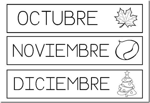 octubre,noviembre,diciembre MAYUSCULAS