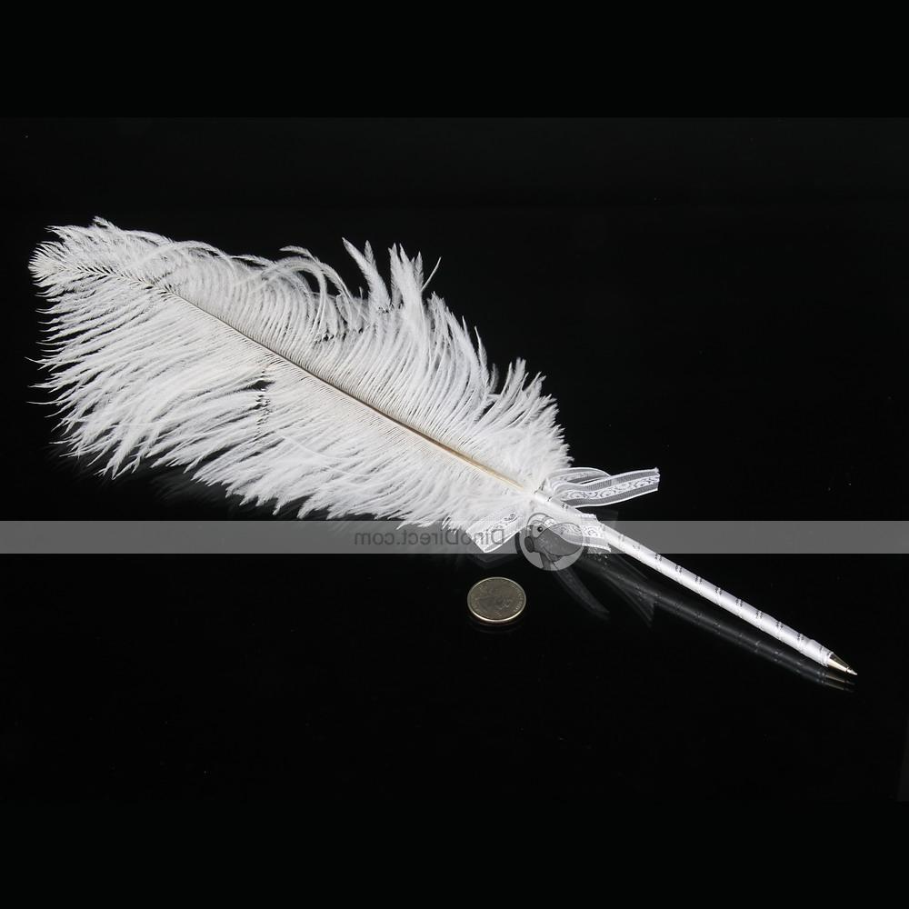 Quill Pen Ostrich Feather Sign