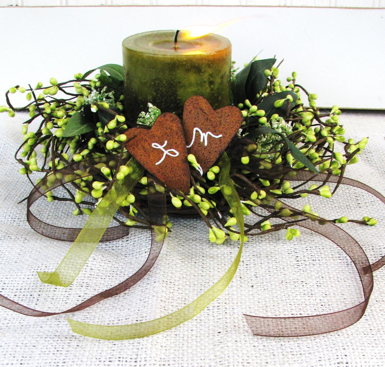 Winter Woodland Wedding- Green
