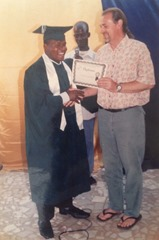 Pastor Freddy Bible School Graduation