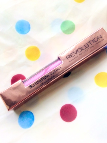 Make Up Revolution London | Salvation Velvet Lip Lacquer - Keep Lying For You | www.londongirldiana.com