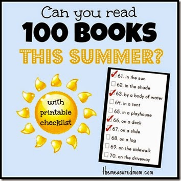Read 100 Books in 100 Places this Summer
