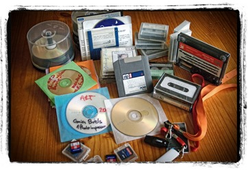 Some of the media formats I have used.