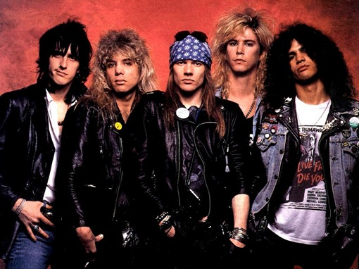 Guns N' Roses - Visual Músicas