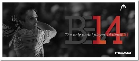 Fernando Belasteguín, el único jugador número 1 del mundo 14 temporadas consecutivas.