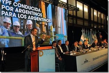 El gobernador Daniel Scioli encabezó el seminario