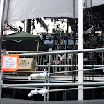 """time for CMA fest...oh, wait...never mind, we're not allowed access here.  That's a fancy way of saying """"Crew Only""""."""