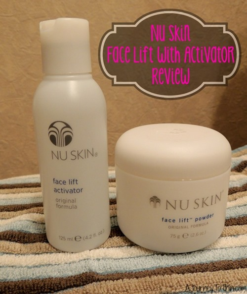 Nu Skin Face Lift with Activator Review