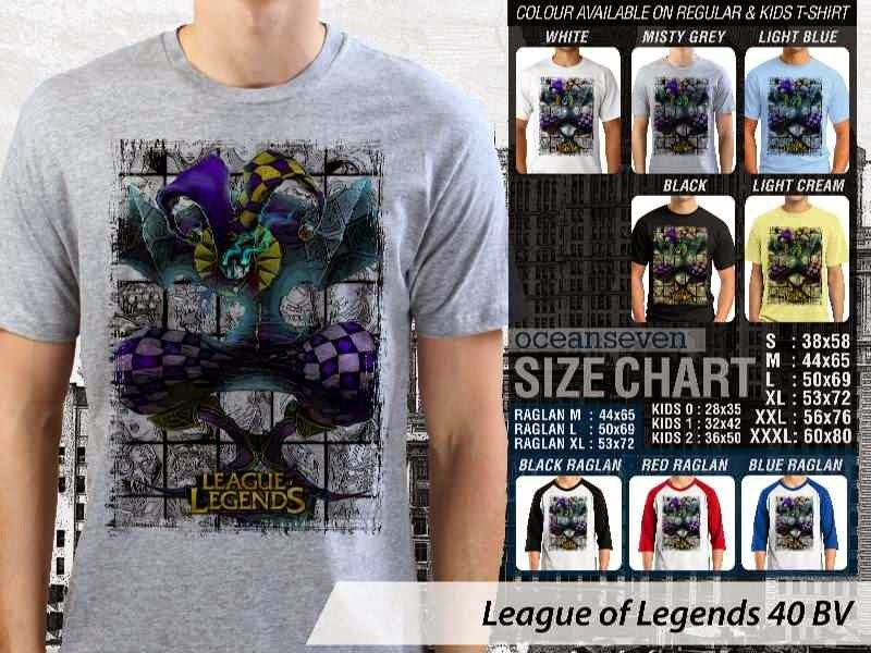 Kaos Game Online League of Legends 40 distro ocean seven