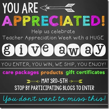 teacher appreciation giveaway