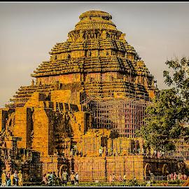 Konark Temple by Prasanta Das - Buildings & Architecture Public & Historical ( temple, konark, world heritage )