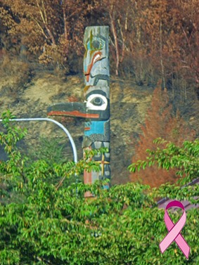 Little Creek Casino totem pole
