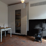 Familistère : musée, appartement, scène d'intérieur 1867